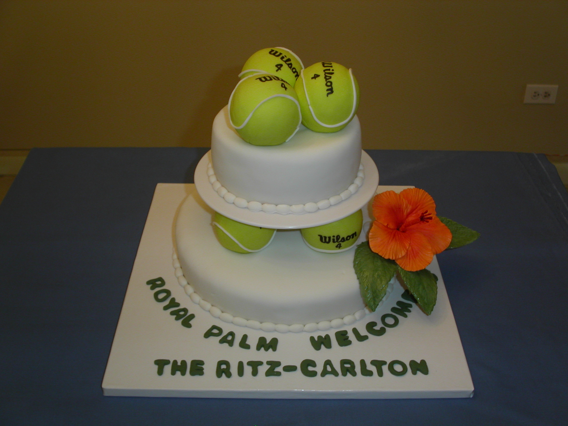 Cake Decorations Tennis : Cake Gallery